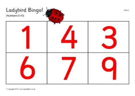 printable children s lotto games printable number bingo lotto games sparklebox