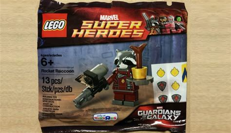 Lego Polybag Guardians Of The Galaxy Rocket Racoon Exclusive lego guardians of the galaxy rocket raccoon exclusive polybag revealed