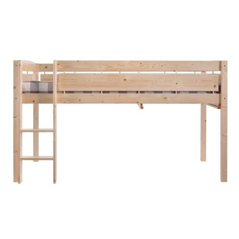 canwood whistler junior loft bed canwood whistler junior wood loft bunk bed in natural 2131 5