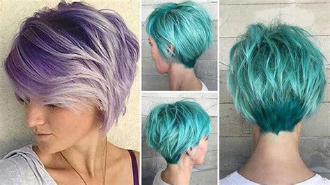 cortes de cabello para dama cortes de pelo corto en capas para mujer 2018 youtube