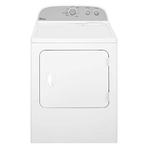 whirlpool 7 0 cu ft electric dryer in white wed4815ew