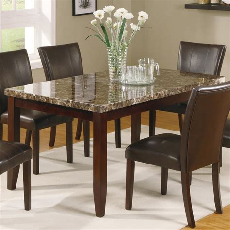 Crown Furniture by Crown Ferrara Rectangular Leg Dining Table Dunk