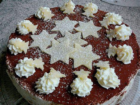 weihnachtliche kuchen rezepte weihnachtliche kirsch mascarpone torte rezept mit
