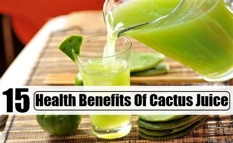 Cactus Detox Drink by 15 Health Benefits Of Cactus Juice Diy Martini