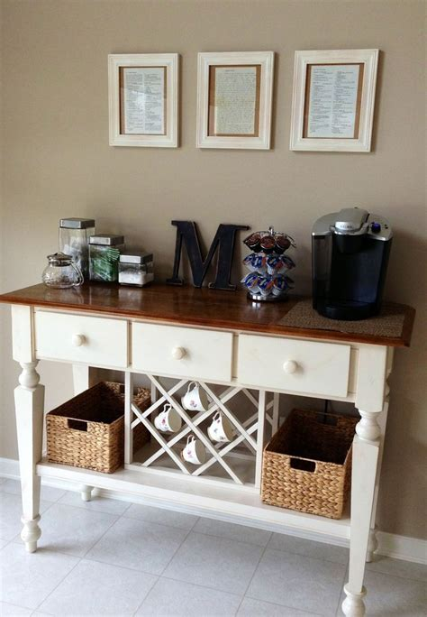 diy luxury kitchen coffee bar kitchen pinterest