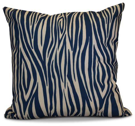 Contemporary Decorative Pillows Wood Stripe Geometric Print Pillow Contemporary