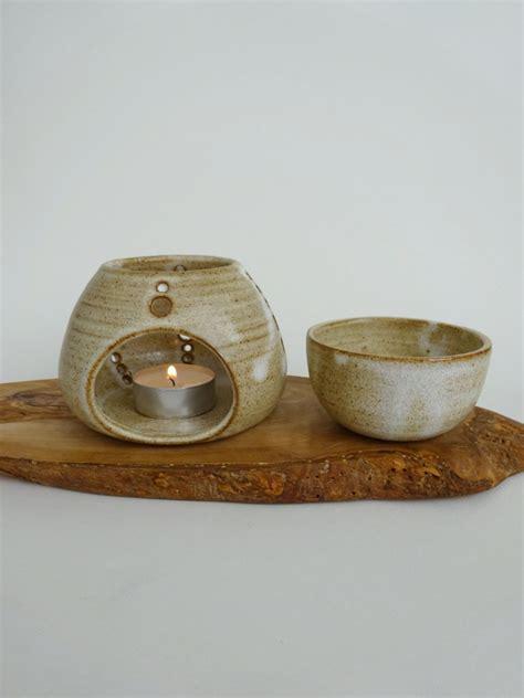 ladari studio handmade ceramic essential burner rustic essential