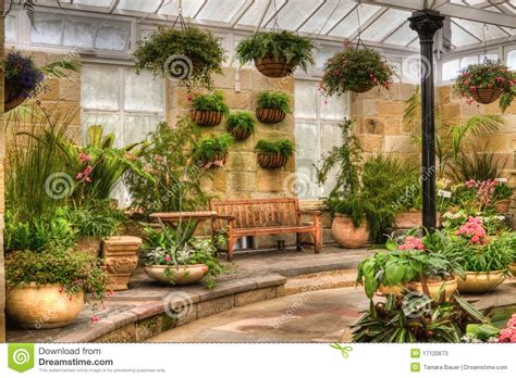 Patio Rooms Prices Scenic Indoor Garden Area Stock Image Image Of Blooming
