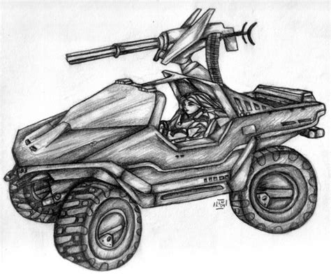 halo warthog drawing how to draw warthog halo