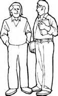 dibujos para varones dibujo de hombre en bascula