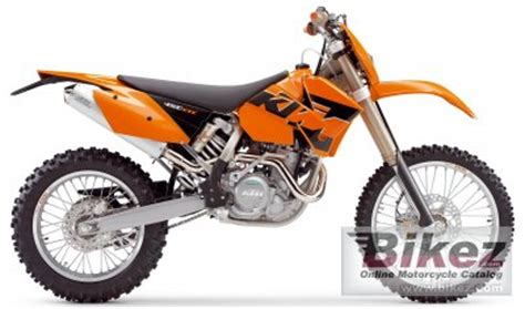 2005 Ktm 450 Exc 2005 Ktm 450 Exc Racing Specifications And Pictures