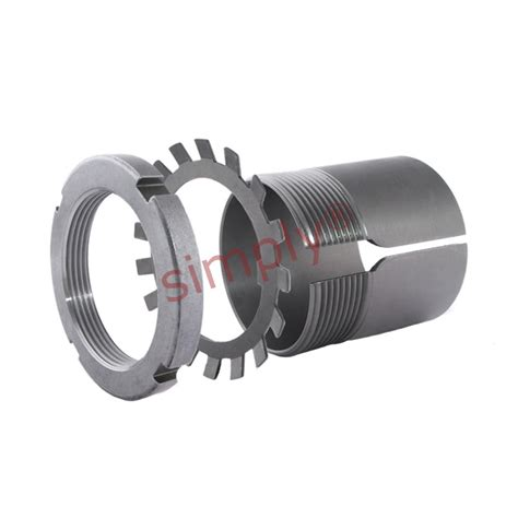 Bearing Lock Nut An 05 Asb skf h205 adaptor sleeve with lock nut and locking device for 20mm shaft simply bearings ltd