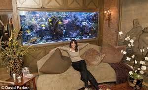 feng shui aquarium in living room multi million pound aquariums might be the status symbol but would you want one in your