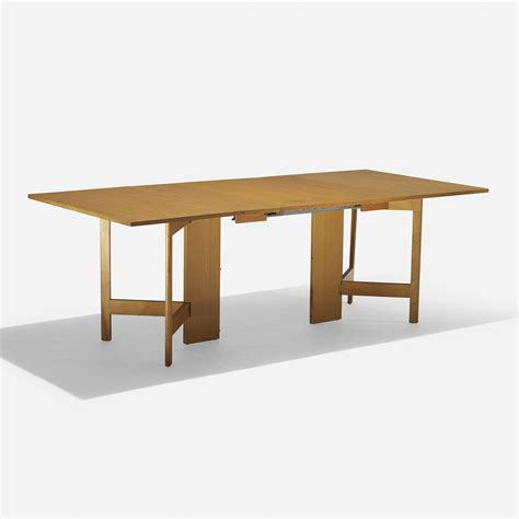 Nelson Dining Table 444 George Nelson Associates Gate Leg Dining Table Model 4656