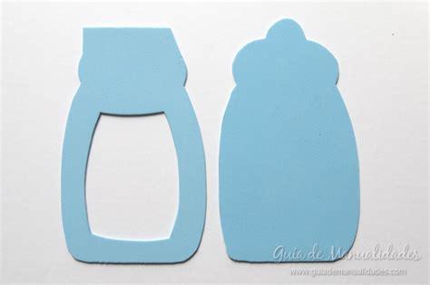 molde para hacer biberones de fomy souvenir biber 243 n para bautismos o baby showers gu 237 a de