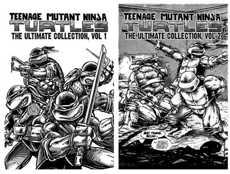 topographical drawing classic reprint books idw reprints of classic mutant turtles