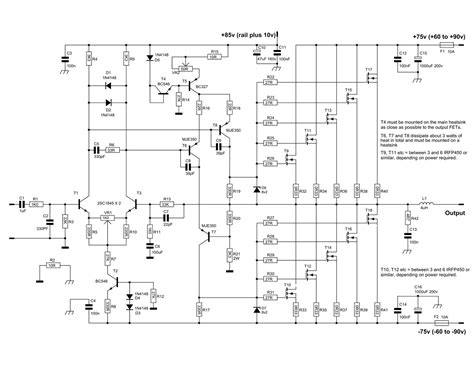 Power Lifier 600 Watt 600 watt mosfet power lifier circuit diagram projekty na vysk 250 紂anie