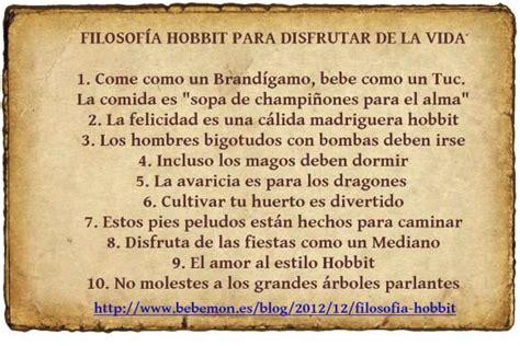 libro lecciones sobre la filosofia filosof 237 a hobbit lecciones para disfrutar de la vida paperblog