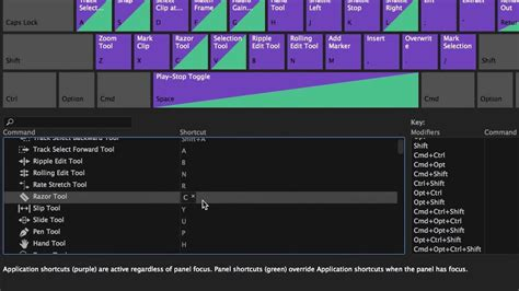 adobe premiere pro hotkeys premiere pro cc keyboard shortcut map adobe creative