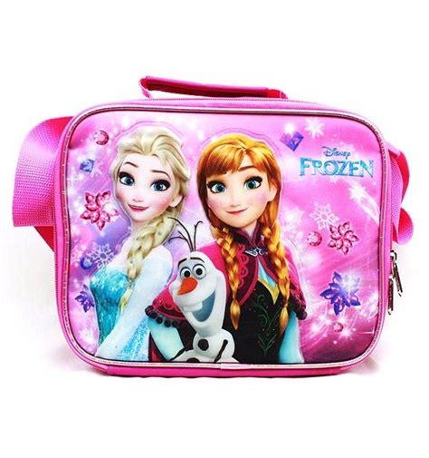Disney Frozen Lunch Box Pink new disney frozen elsa insulated school lunch bag