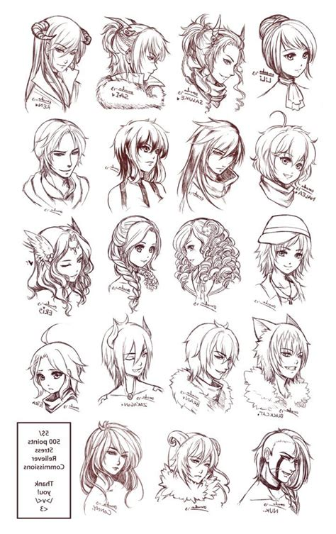 hairstyles drawings pinterest boys hairstyle sketches paintings drawings male faces n