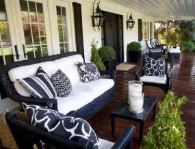 Outdoor Porch Furniture Outdoor Sitting Area Transitional Porch Kriste