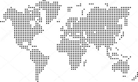 Dotted world map vector download fast dotted world map vector download gumiabroncs Choice Image