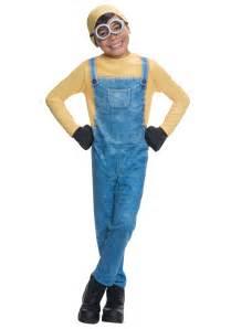 minion halloween costume for toddler child minion bob costume