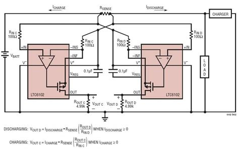 current sense shunt resistor solutions bidirectional current sense circuit with separate charge discharge output