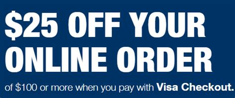Why Wont My Visa Gift Card Work - 25 off 100 at staples with visa checkout dansdeals com