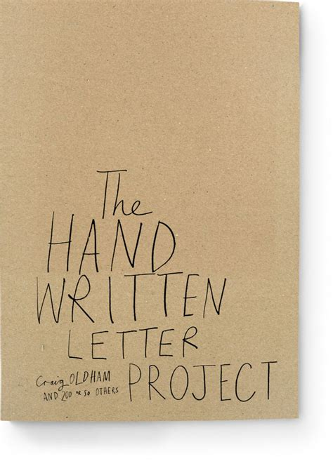 the letters edition books written letter project second edition book