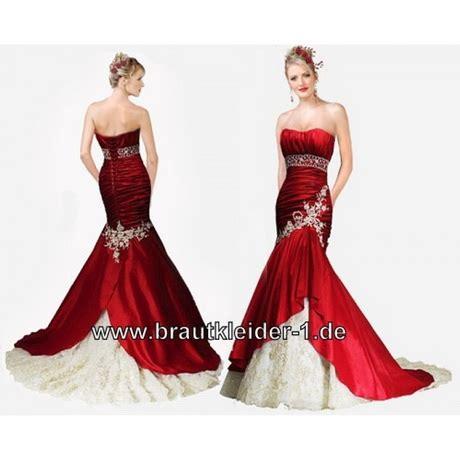 Hochzeitskleid Mit Rot by Brautkleider Rot Weiss