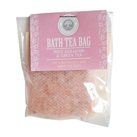green tea bathroom rose geranium and green tea bath tea bag funky skincare