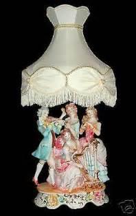 Capodimonte Large Vase Capodimonte Figurine Lamps Ebay