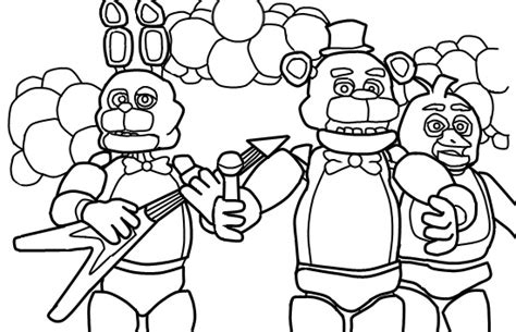 five nights at freddy s coloring book for and adults activity book books five nights at s coloring page coloring pages