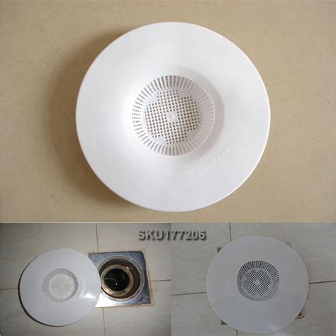bathtub drain filter 2pcs bathtub hair trap shower basin sink hole plug