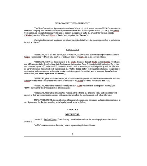 non compete agreement free template 39 ready to use non compete agreement templates template lab