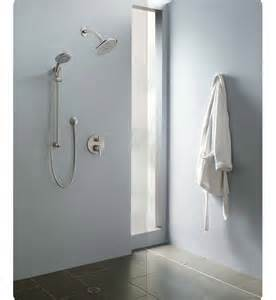 hansgrohe eshowersys2 quot e quot shower system with handshower