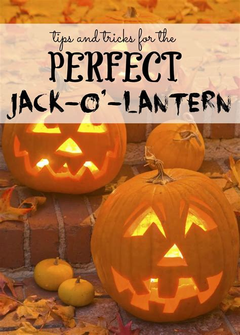 tricks   perfect jack  lantern