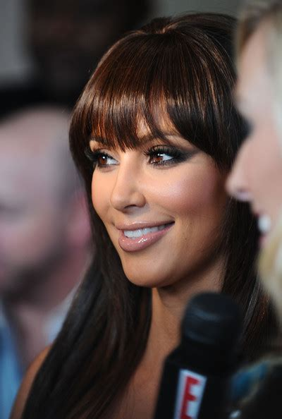kim kardashian hairstyles 2010 more pics of kim kardashian long straight cut with bangs