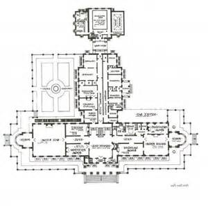 lynnewood hall first floor plan architectural floor lynnewood hall interior photos