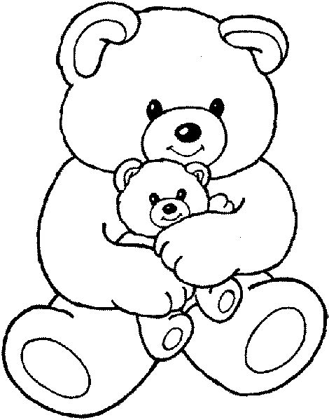teddy bear coloring pages celebrate christmas