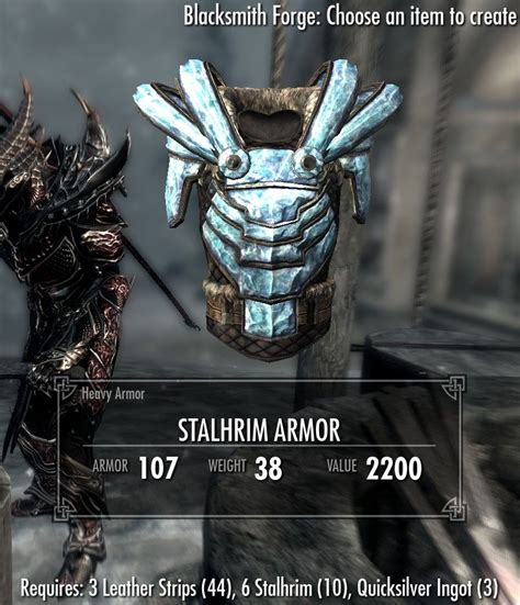 Stalhrim Light Armor by Stalhrim Crafting At Skyrim Nexus Mods And Community
