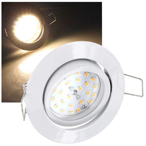 led spots dimmbar led spot einbaustrahler 5w 230v dimmbar schwenkbar