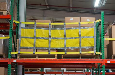 Racking Nets by Sliding Rack Safety Net And Pack Operations