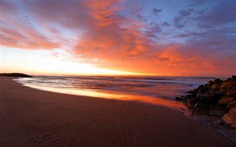 imagenes de paisajes en la playa amanecer en la playa hd 1920x1200 imagenes wallpapers