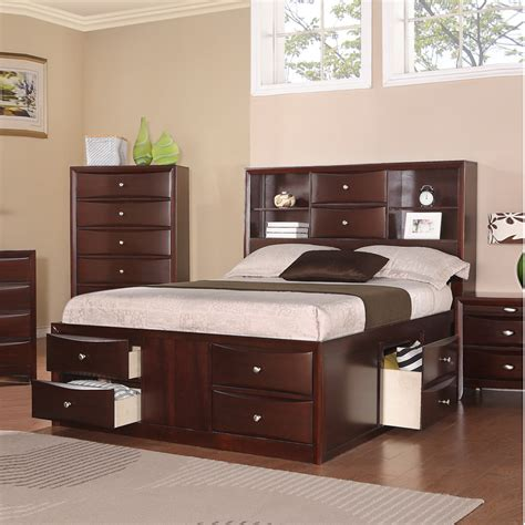 trendy assortment of beds with drawers shelves