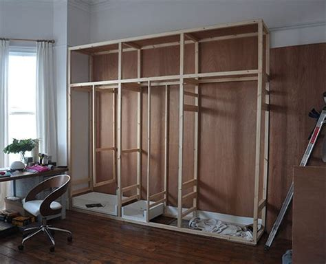 Diy Built In Wardrobe Doors - fitted wardrobe high ceiling search home