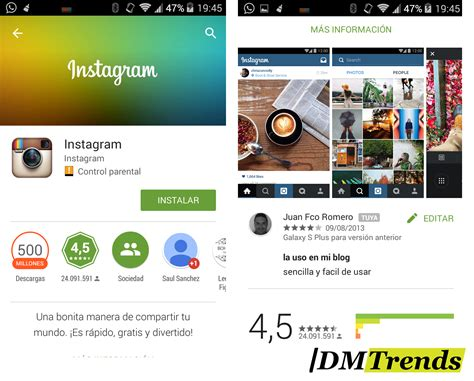 Play Store Instagram Descargar Instagram Es F 225 Cil Y R 225 Pido Digital Marketing