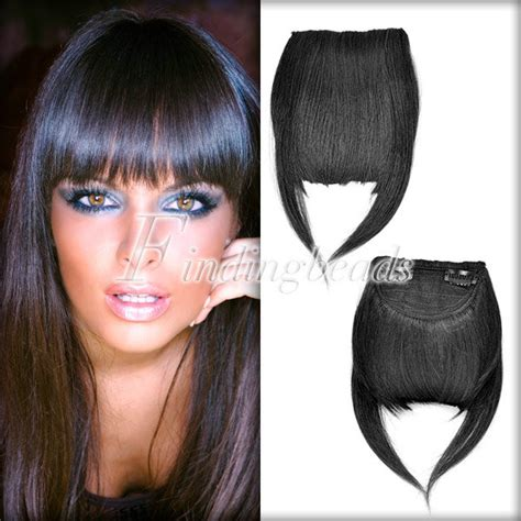 short wigs for high forehead diy clip on forehead inclined neat trim bang fringe hair